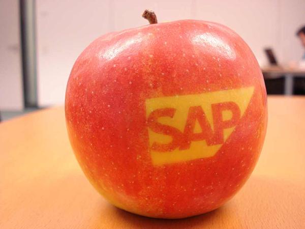 apple and sap