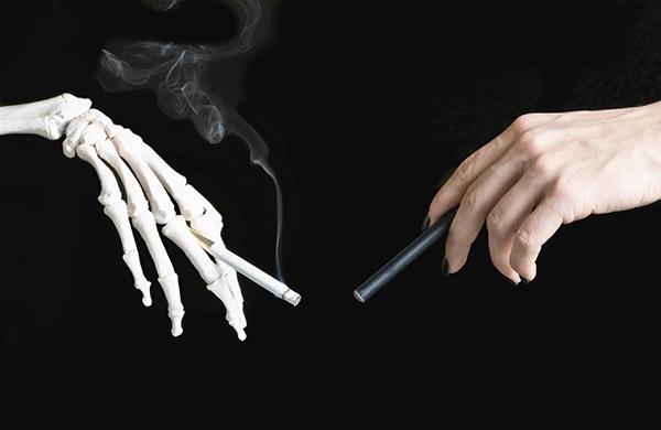 vaping cigarette